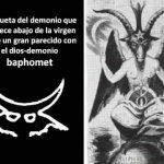 Demonio oculto en la Virgen de Guadalupe
