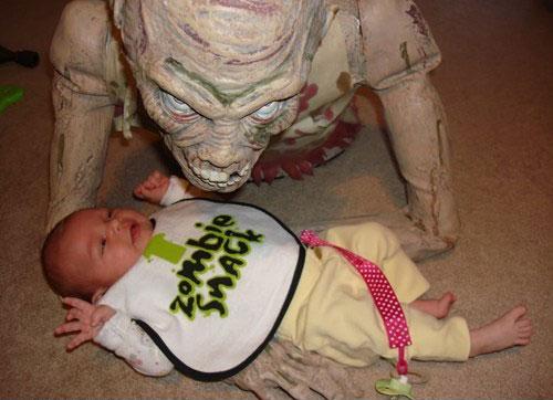 Paternidad?, lo estas haciendo mal Zombie-snack