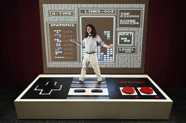 Control gigante de NES (3)
