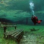 Parque que se convierte en lago en Austria