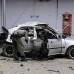 Explosión de coche bomba