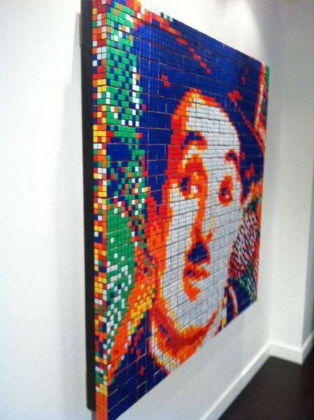 Obras de arte con cubos de Rubik (4)