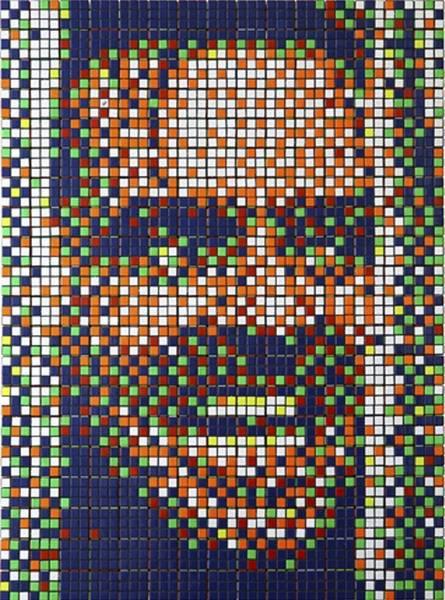 Obras de arte con cubos de Rubik (10)