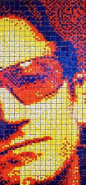 Obras de arte con cubos de Rubik (8)