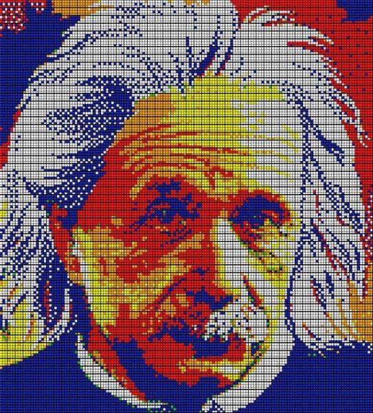 Obras de arte con cubos de Rubik (25)