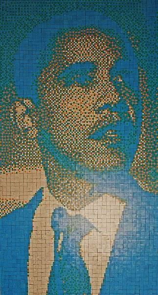 Obras de arte con cubos de Rubik (24)
