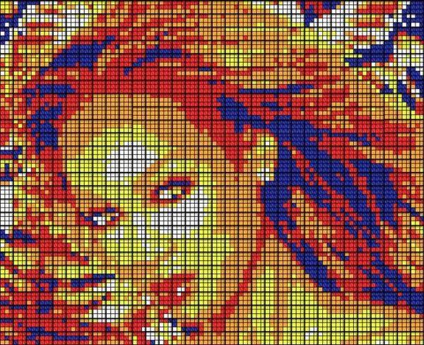 Obras de arte con cubos de Rubik (29)