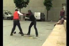Borrachos peleando