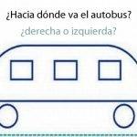 Test: ¿A donde va el autobús?