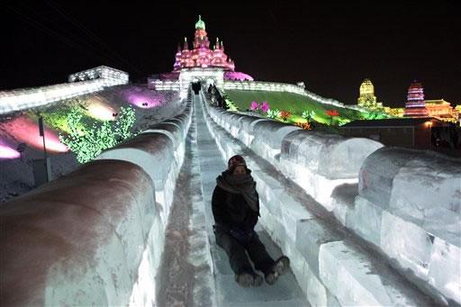 Festival internacional del hielo y la nieve de Harbin, o Festival de los Palacios de hielo, para los más románticos. (1)