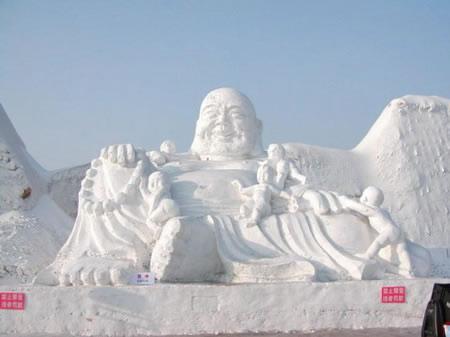 Festival internacional del hielo y la nieve de Harbin, o Festival de los Palacios de hielo, para los más románticos. (8)