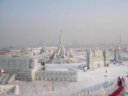 Festival internacional del hielo y la nieve de Harbin, o Festival de los Palacios de hielo, para los más románticos. (5)