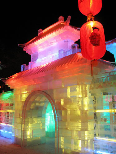 Festival internacional del hielo y la nieve de Harbin, o Festival de los Palacios de hielo, para los más románticos. (4)