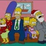 Los Simpsons a través del tiempo