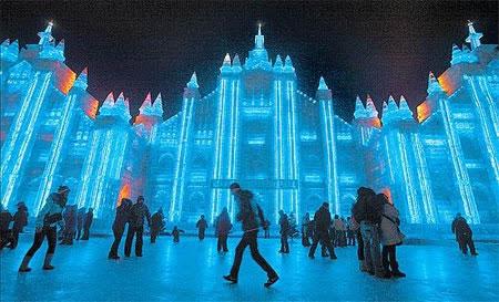 Festival internacional del hielo y la nieve de Harbin, o Festival de los Palacios de hielo, para los más románticos. (12)