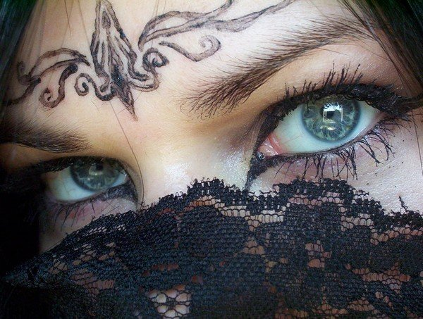 Dibujo De Ojos HERMOSOS De Mujer