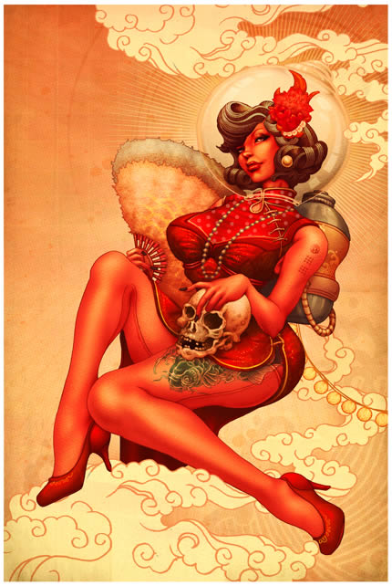 Provocativas ilustraciones japonesas (2)