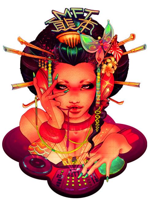 Provocativas ilustraciones japonesas (24)
