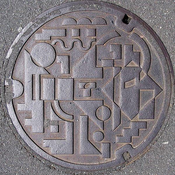 Tapas de alcantarillas en Japón (27)