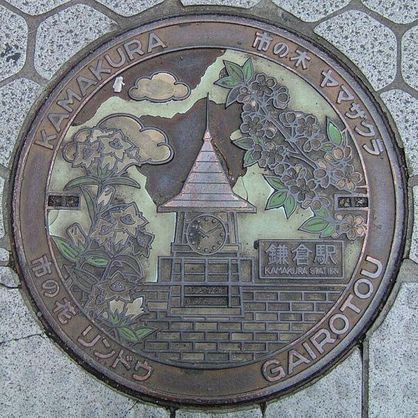 Tapas de alcantarillas en Japón (25)