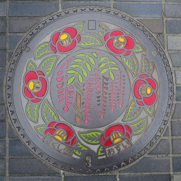 Tapas de alcantarillas en Japón (16)