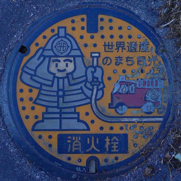 Tapas de alcantarillas en Japón (12)