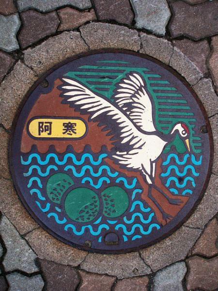 Tapas de alcantarillas en Japón (11)