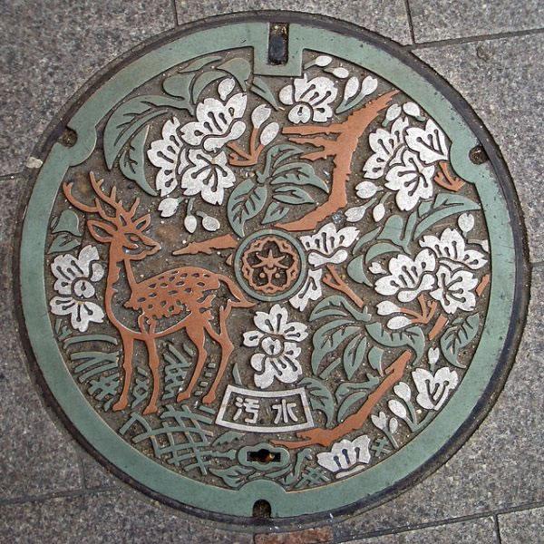 Tapas de alcantarillas en Japón (10)