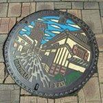 Tapas de alcantarillas en Japón