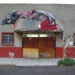 Graffiti Animal por ROA
