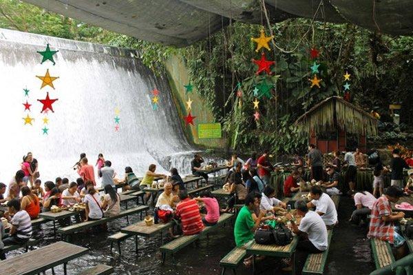 restaurante Cascada (2) Villa Escudero