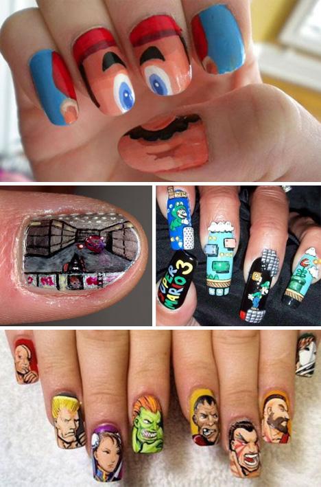 Decoración de uñas + creatividad | Marcianos