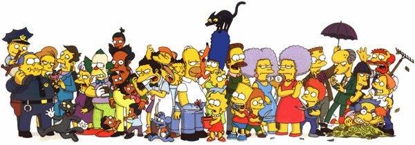 La inspiración de los personajes Simpson – Marcianos