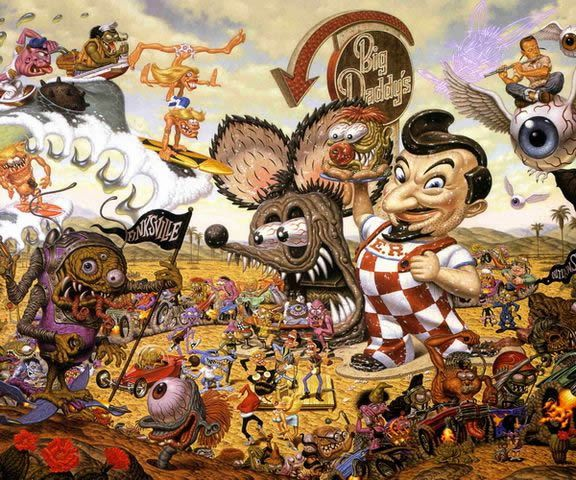 Todd Schorr paints (17)