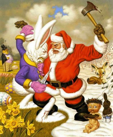 Todd Schorr paints (7)