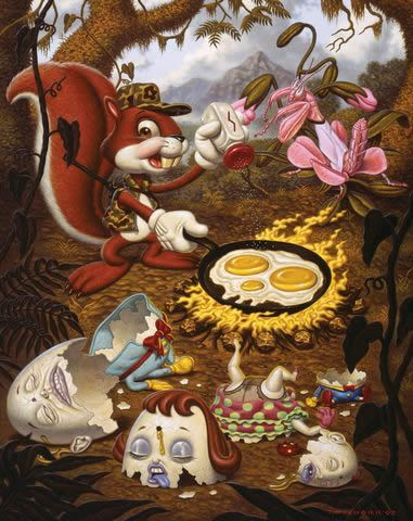 Todd Schorr paints (6)