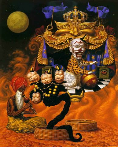 Todd Schorr paints (5)
