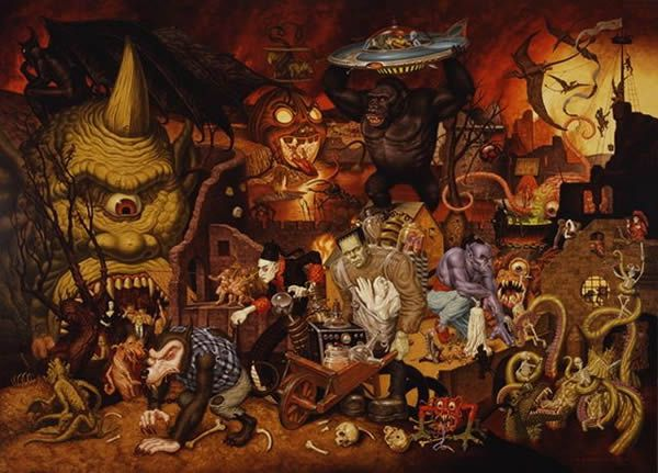 Todd Schorr paints (16)