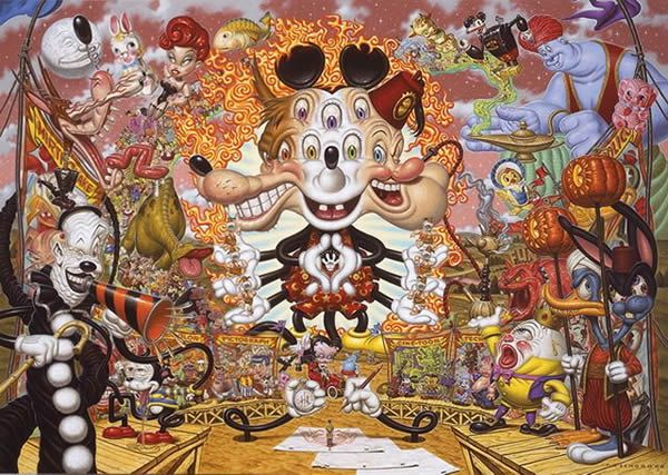 Todd Schorr paints (14)