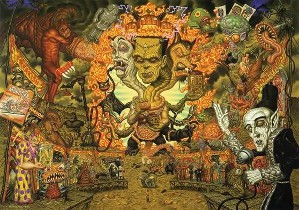 Todd Schorr paints (13)
