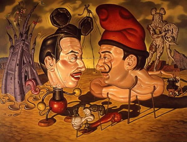 Todd Schorr paints (12)