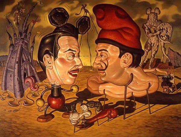 Todd Schorr paints (12)
