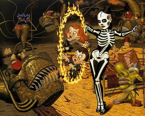 Todd Schorr paints (11)