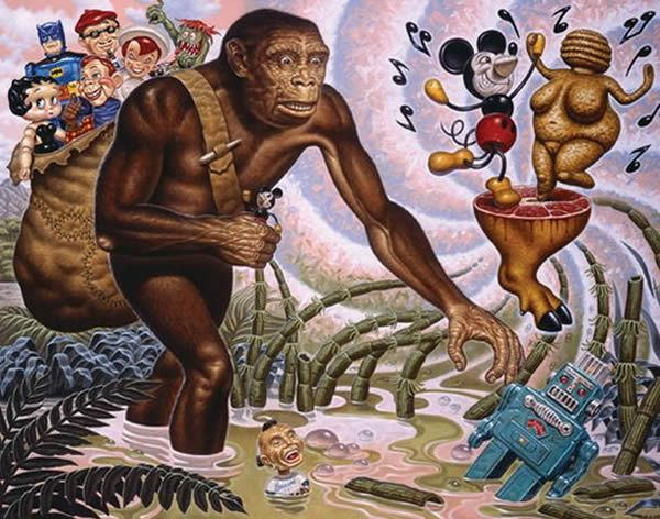 Todd Schorr paints (10)