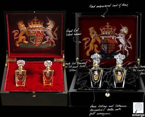 Los regalos de boda más caros Clive-christian-perfume-set