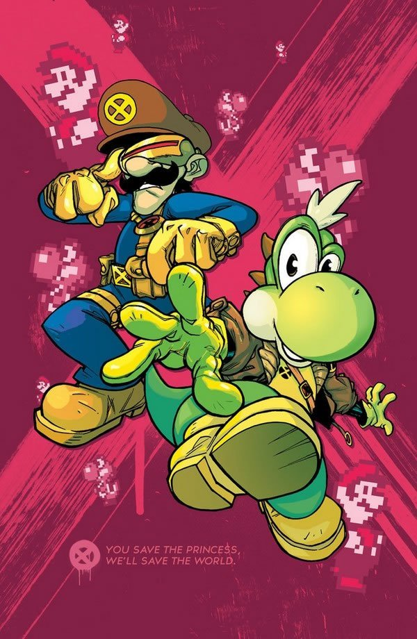 Mario Bros en el universo X-Men (3)