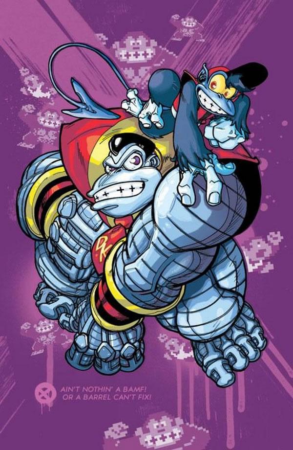Mario Bros en el universo X-Men (1)