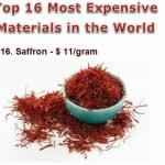 Los materiales más costosos del mundo