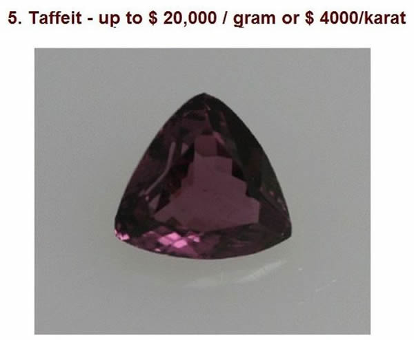 materiales más costosos (5)