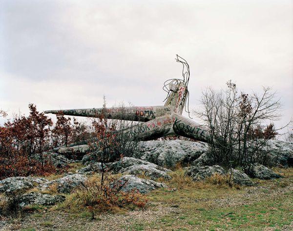 Monumentos abandonados Yugoslavia (1)